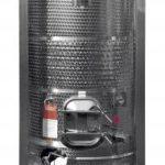Paletank, serbatoio palettizzabile sovrapponibile con fascia di scambio termico