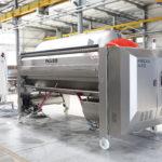Pressa pneumatica Puleo serie N , pressatura sotto gas inerte con recupero di azoto - sistema brevettato Vortex